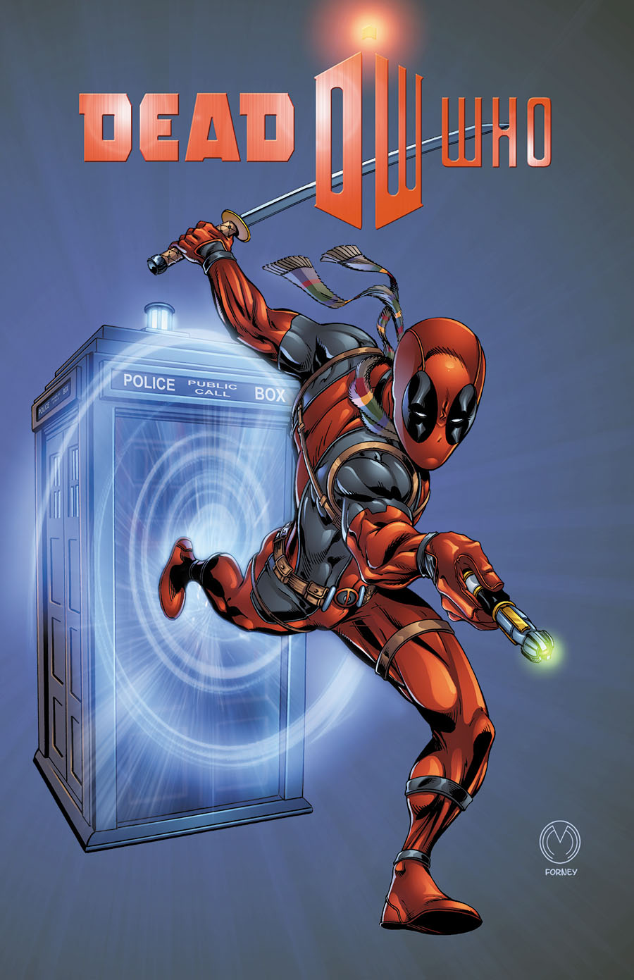MARAT MYCHAELS- Deadpool Dr. Who DeadWho