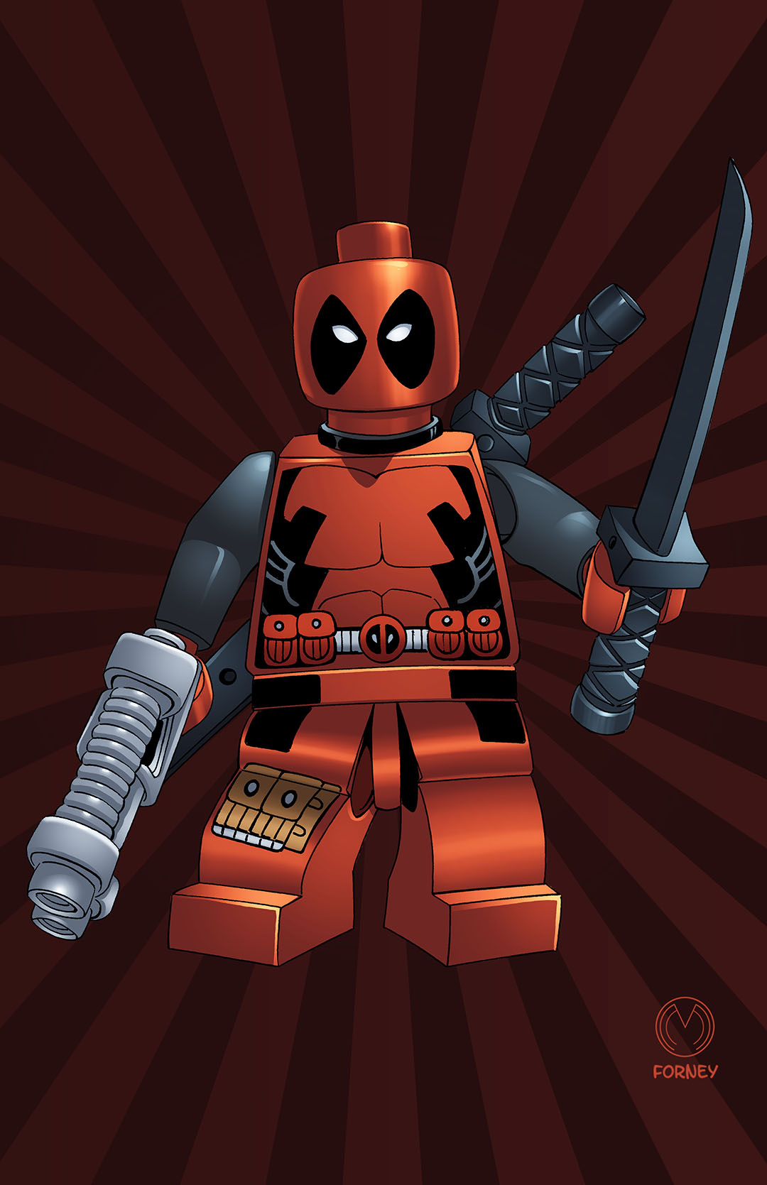MARAT MYCHAELS – Lego Deadpool