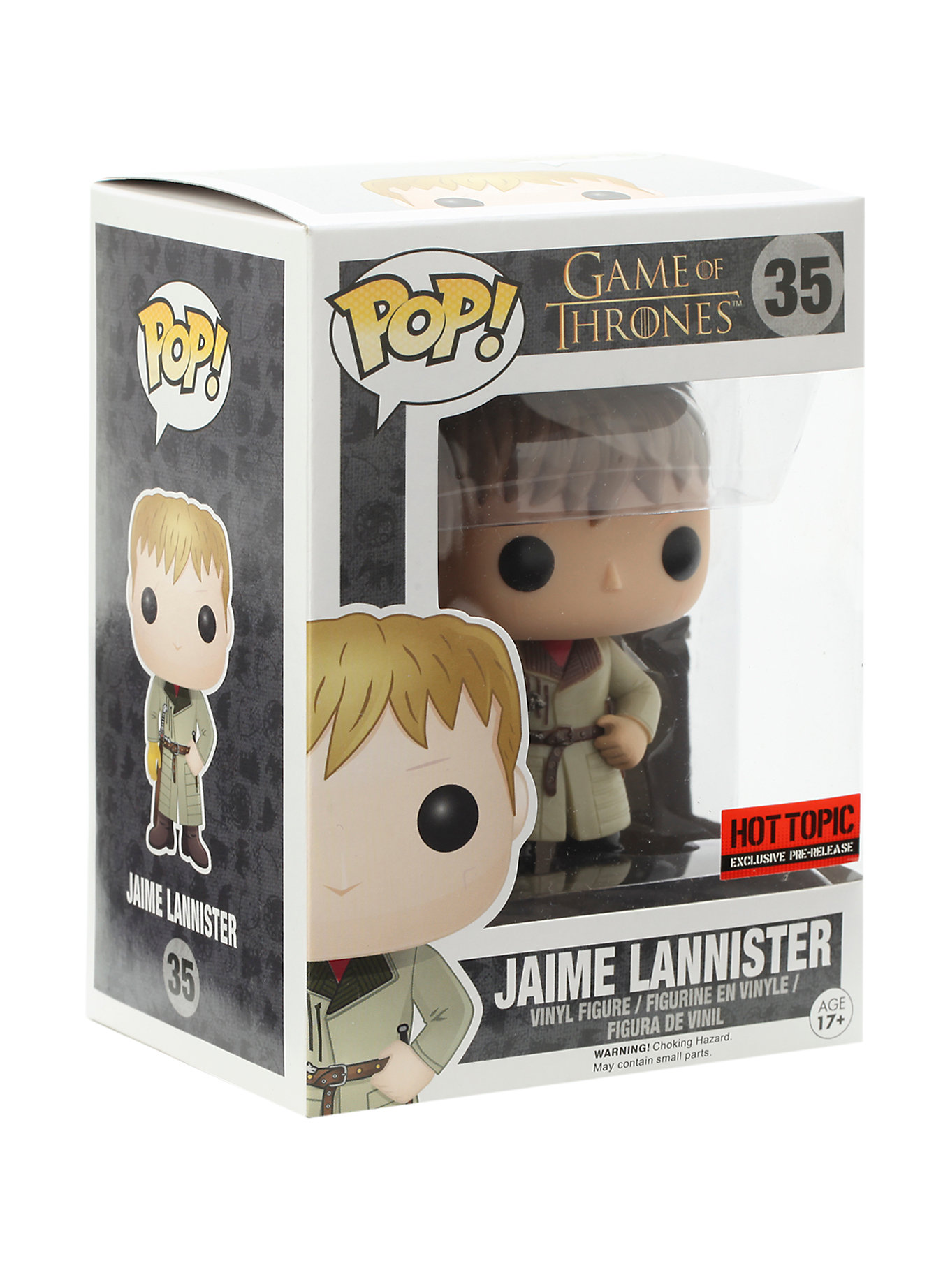 JAIME LANNISTER HOT TOPIC EXCLUSIVE #35
