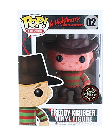 CHASE FREDDY KRUEGER FUNKO POP GLOW IN THE DARK GITD HORROR