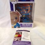 Disney Beauty and The Beast Bobby Benson JSA Certified Signed Beast Hot Topic Exclusive Funko Pop