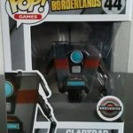 Funko Pop Games Borderlands Claptrap 44 Gamestop Exclusive