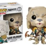 Funko Pop Games Magic the Gathering MTG Ajani Goldmane 03