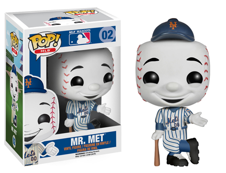 Funko Pop MLB Mascots Mr. Met 02