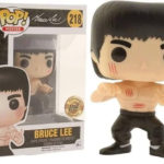 Funko Pop Movies Bruce Lee 218 Bait Exclusive Scratch Marks