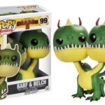 Funko Pop Movies How to Train your Dragon 2 Barf & Belch 99