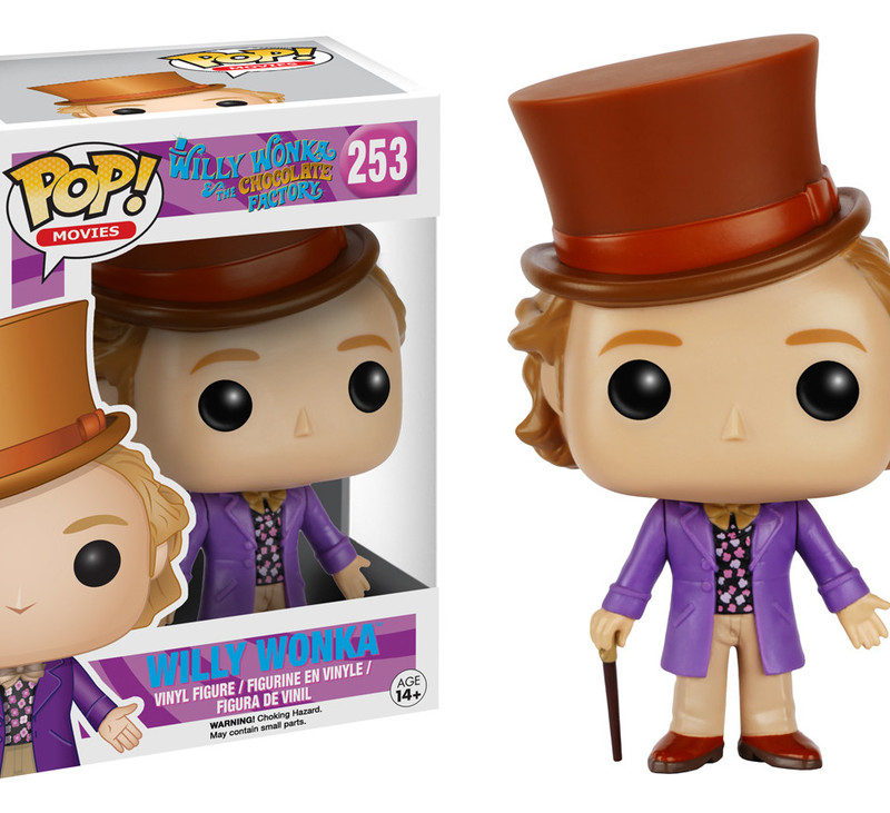 Funko Pop Movies Willy Wonka and the Chocolate Factory Willy Wonka 253