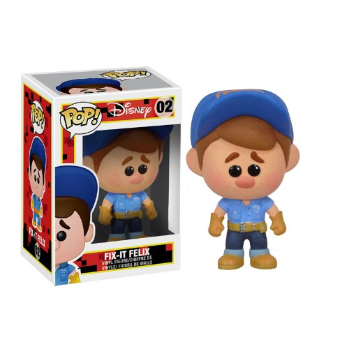 Funko Pop Movies Wreck It Ralph Fix-it Felix 02