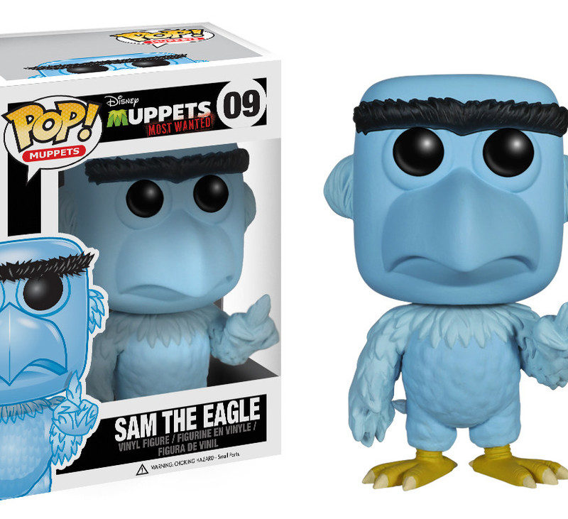 Funko Pop Muppets Muppets Most Wanted Sam the Eagle 09