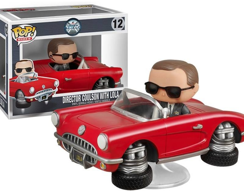 Funko Pop Rides Agents of Shield 12 Director Coulson with Lola