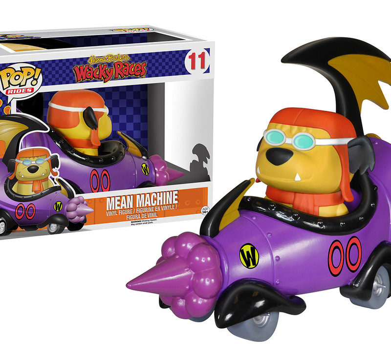 Funko Pop Rides Hanna Barbera Wacky Races Mean Machine 11