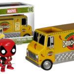 Funko Pop Rides Marvel Deadpool 10 Deadpool's Chimichanga Truck