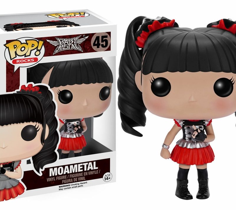 Funko Pop Rock Baby Metal Moametal 45