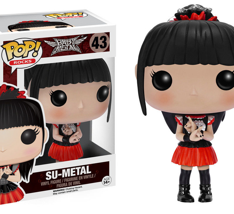 Funko Pop Rock Baby Metal Su-Metal 43