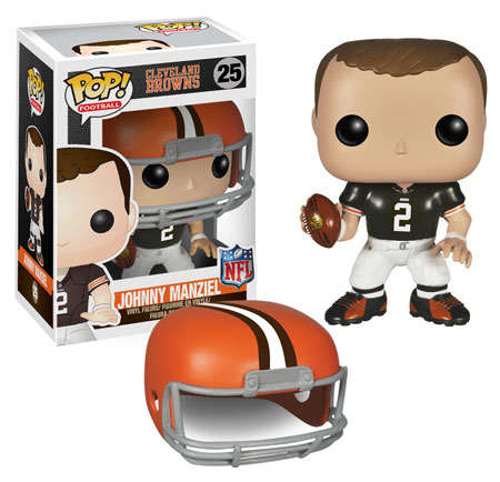 Funko Pop Sports Football Cleveland Brown Johnny Manziel 25