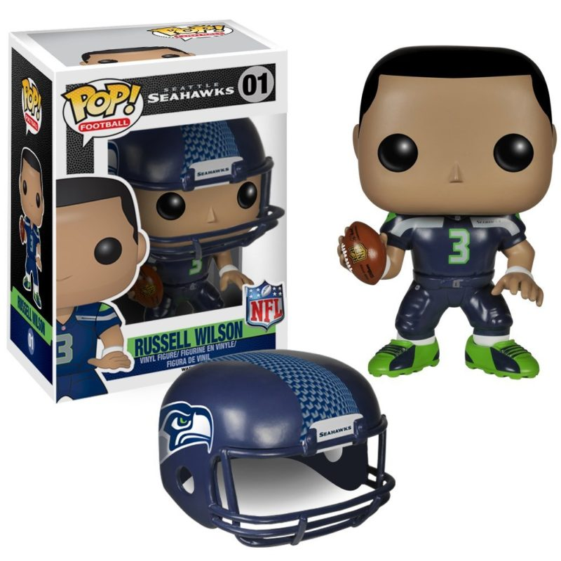 Funko Pop Sports Football Seattle Seahawks Russell Wilson 01