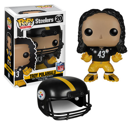 Funko Pop Sports Football Steelers Troy Polamalu 20
