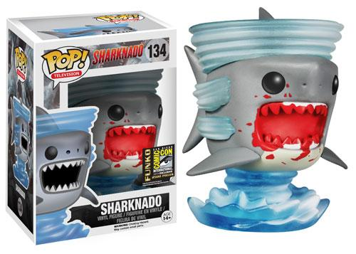 SHARKNDO MOVIE SDCC BLOODY FUNKO POP EXCLUSIVE