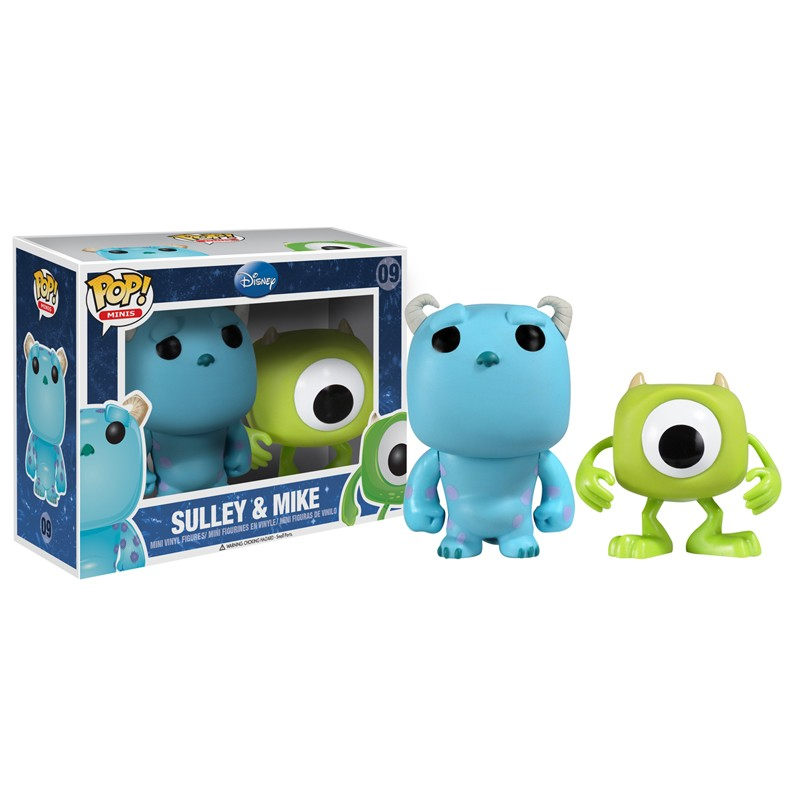 SULLEY AND MIKE 2 PACK FUNKO POP MOVIE DISNEY 09