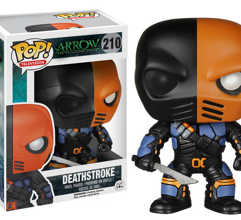 TV SHOW DETHSTROKE FUNKO POP ARROW DC COMICS