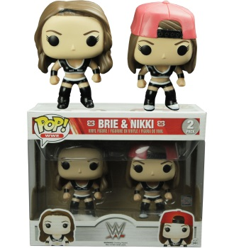 BRI & NIKKI WWE EXCLUSIVE 2 PACK FUNKO POPS