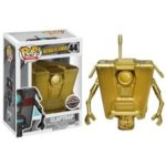 boarderlands claptrap gold funko pop gamestop exclusive video game