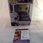 Friday The 13th Kane Hodder Autographed Jason Voorhees Funko #01