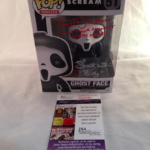 """Scream Roger Jackson & Skeet Ulrich Autographed """"What's Your Favorite Scary Movie"""" Ghostface Funko #51"""