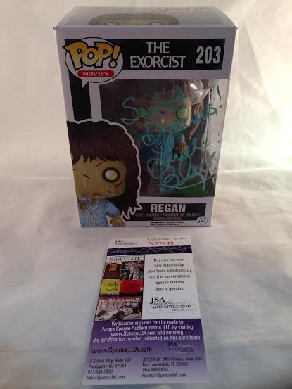 Linda Blair Autographed Regan Exorcist Funko Pop