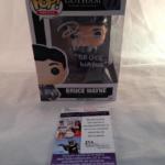 David Mazouz Autographed Bruce Wayne Gotham JSA Certified Funko Pop