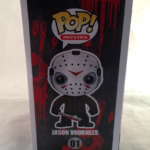 Friday The 13th Kane Hodder Autographed Jason Voorhees Funko