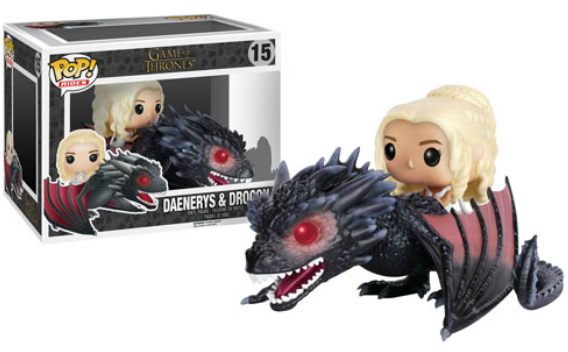 DAENERYS & DROGON GAME OF THRONES