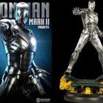Sideshow Marvel Iron Man Mark II 2 1/4 Scale Statue *MARVEL SAMPLE*