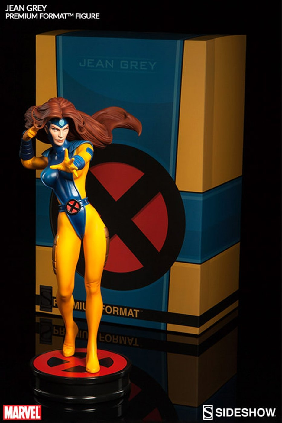 Sideshow Sideshow Marvel Comics X-Men Jean Grey Premium Format Figure Statue *MARVEL SAMPLE*