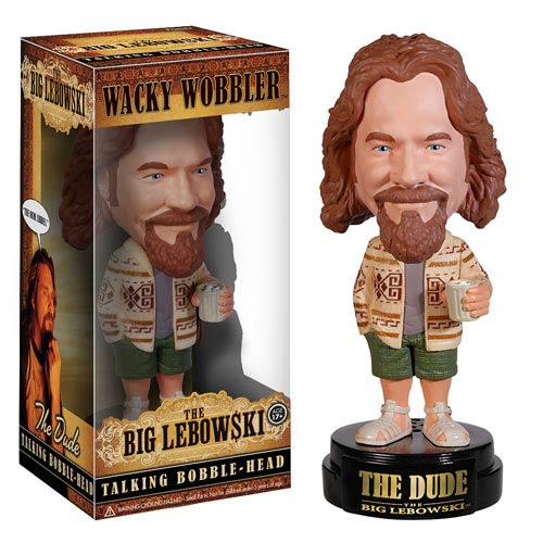 The Dude The Big Lebowski Wackie Wobbler Bobble head
