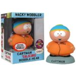 CARTMAN SOUTH PARK COMIC CON WACKY WOBBLER TALKING BOBBLEHEAD