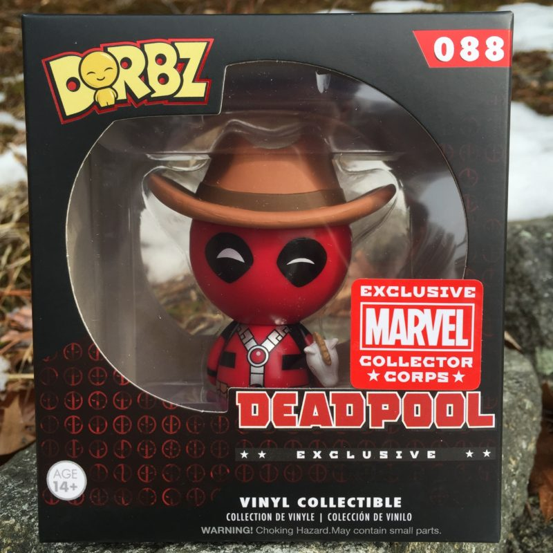 DEADPOOL COWBOY DORBZ