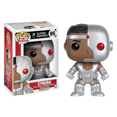 Justice League Cyborg Pop Vinyl Figure
