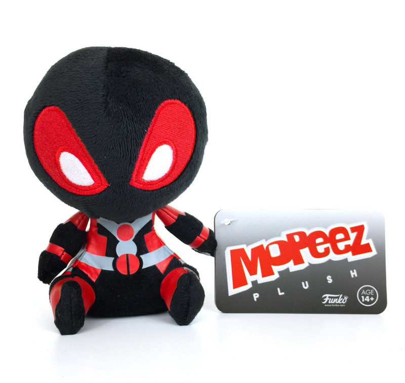 DEADPOOL BLACK AND RED INVERTED FUNKO MOPEEZ