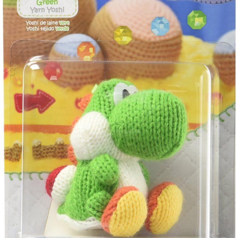 NIntendo Amiibo Yoshi's Woolly World Green Yarn Yoshi