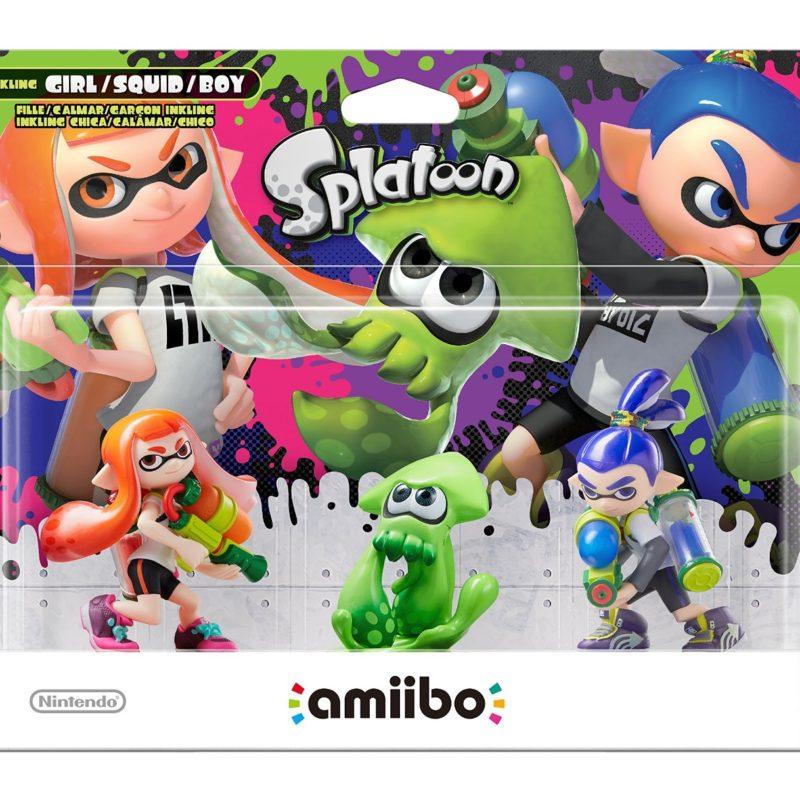 Nintendo Amiibo Splatoon 3 Pack Girl Squid Boy