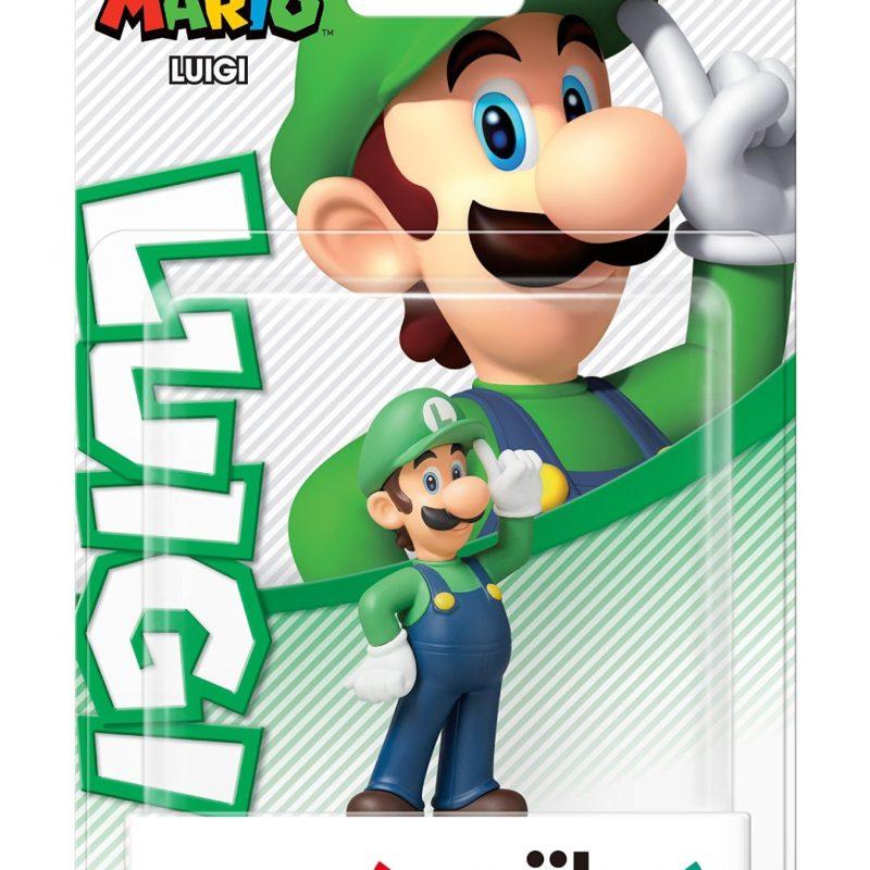 Nintendo Amiibo Super Mario Luigi
