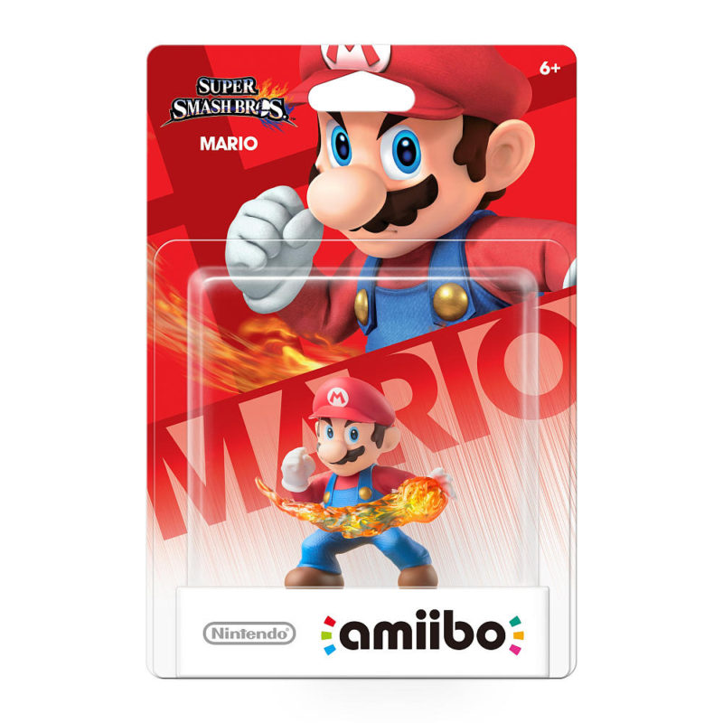 Nintendo Amiibo Super Smash Bros Mario