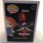 "Chucky Childs Play 2 Brad Dourif Autographed ""Wanna Play"" CHUCKY Funko Pop"