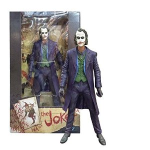 dark knight batman dc comics heath ledger neca action the joker figure
