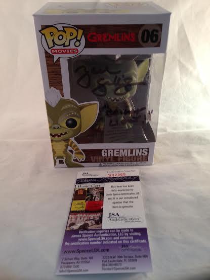 Gremlins Zach Galligan Autographed GREMLIN Funko Pop Vinyl Figure