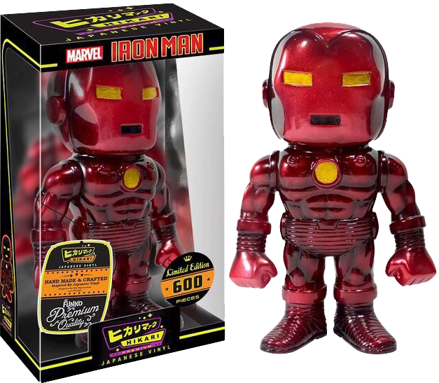 IRON MAN RED HIKARI FUNKO VINLY COLLECTIBLE FIGURE