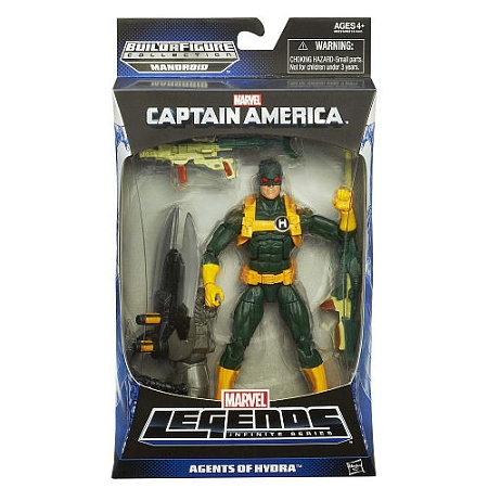 Marvel Legends Infinite Series Captain America: Agents of Hydra Baf Mandroid
