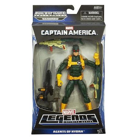 Marvel Legends Infinite Series Captain America: Agents of Hydra Baf Mandroid
