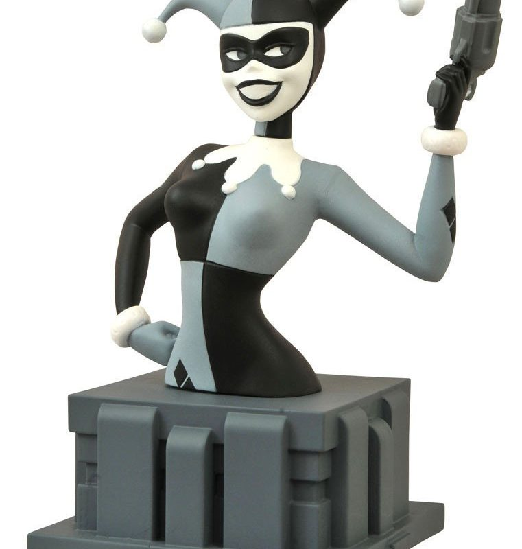 nycc harley quinn animated batman bust almost got im